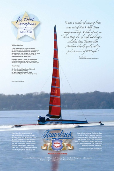 2010 BIll Mattison Iceboat Champion