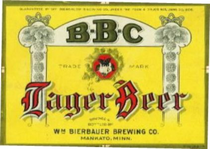 William Bierbauer beer label