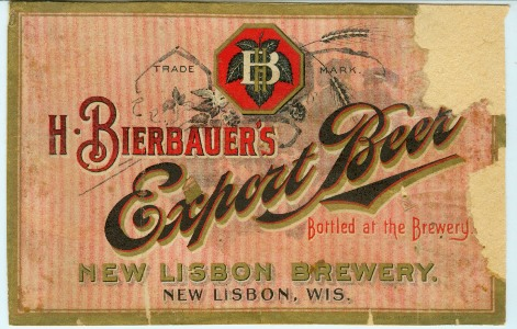 bierbauer beer label
